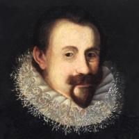 Detail from a portrait of Johann Hermann Schein dated 1620